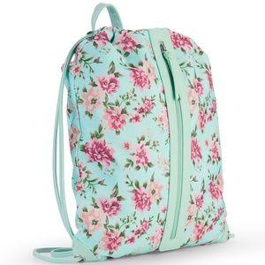 No Boundaries Fatima Mint Floral Backpack Bag